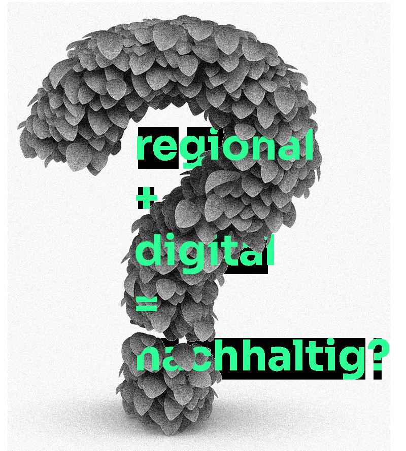 regional digital nachhaltig