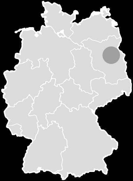 Karte Brodowin